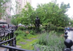 Gandhi Theosophy and Union Square Park in NYC