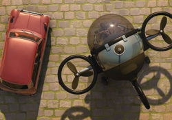The future of commuting: Fly to work in a mini eco-friendly Citycopter 1