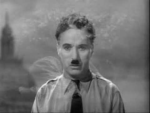 Must-see: Charlie Chaplin's most timeless and mesmerizing speech! 1